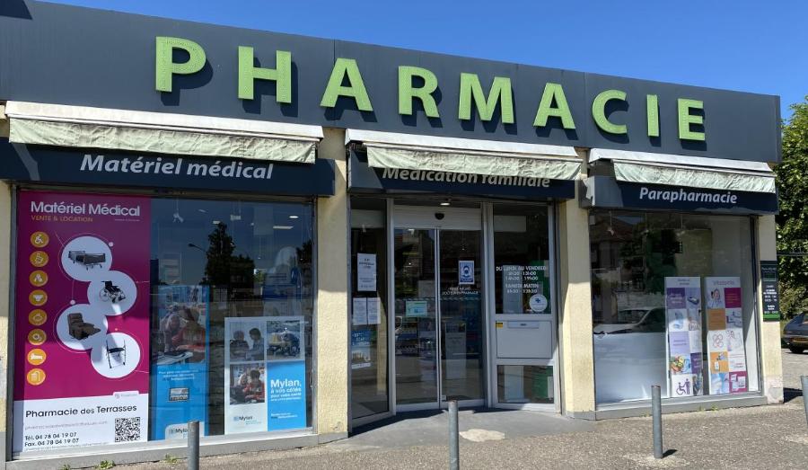 Pharmacie des Terrasses à Meyzieu