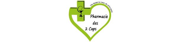 Pharmacie des 2 Caps logo