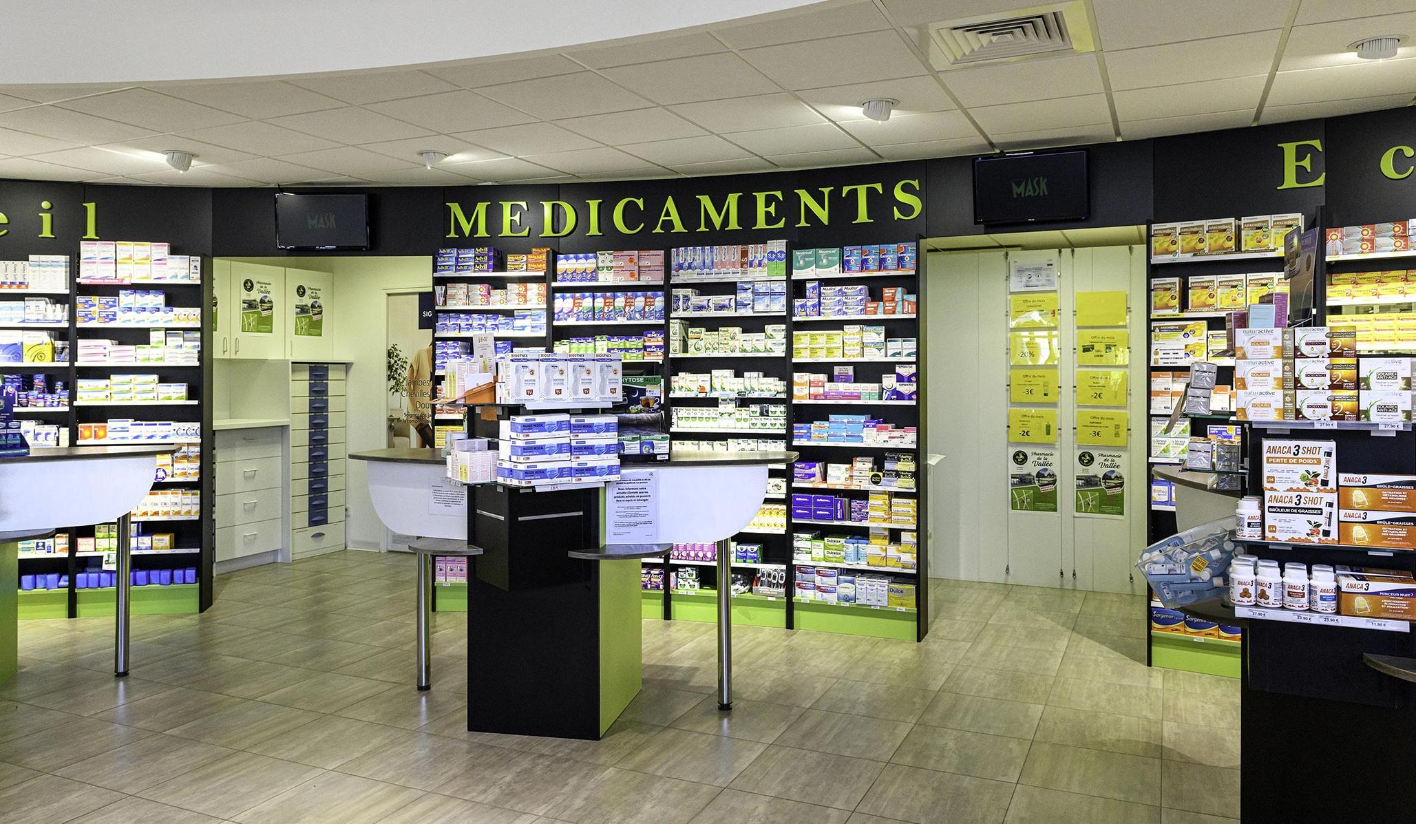 Pharmacie de la Vallée à Plérin