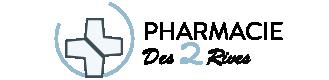 Pharmacie des deux rives logo