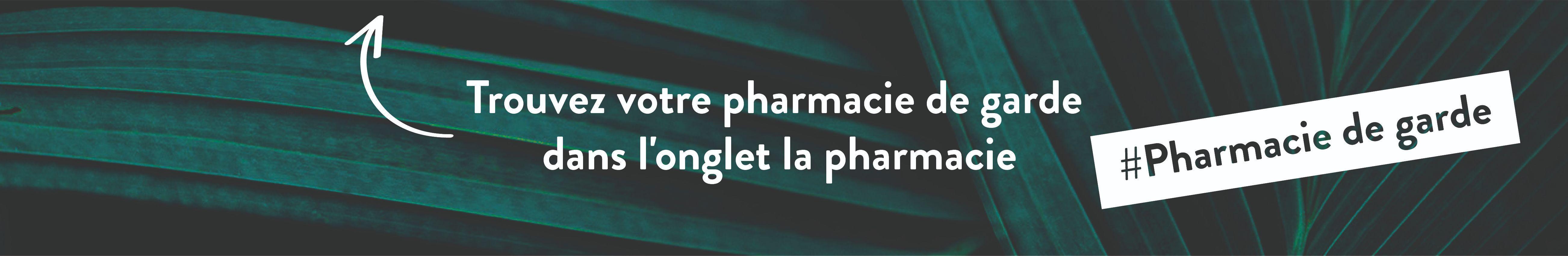 Bannière Pharmacies de garde